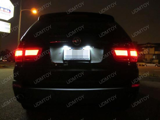 BMW X5 LED License Plate Lights